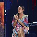 Isabel Pantoja en el plató de 'Supervivientes 2019'