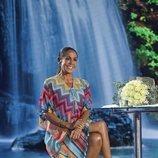 Isabel Pantoja posa sonriente en 'Supervivientes 2019'