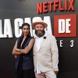 Alba Flores y Darko Peric en la premiere de la tercera temporada de 'La casa de papel'