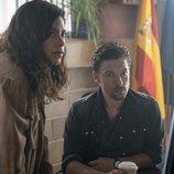 Lele Guillén y Jan Cornet en la tercera temporada de 'Estoy vivo'