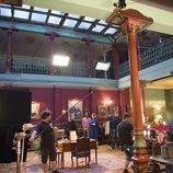 El set de rodaje de 'Nasdrovia'