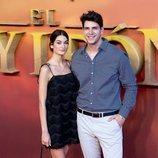 Diego Matamoros y su mujer Estela Grande en la premier de