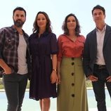 Miquel Fernández, Natalia Verbeke, Cristina Plazas y Oriol Tarrasón, protagonistas de 'El nudo'