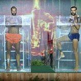 Albert Álvarez y Fabio Colloricchio en la gran final de 'Supervivientes 2019'