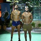 Fabio Colloricchio y Omar Montes en la gran final de 'Supervivientes 2019'