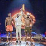 Jorge Javier Vázquez proclama a Omar Montes ganador de 'Supervivientes 2019' en la gran final