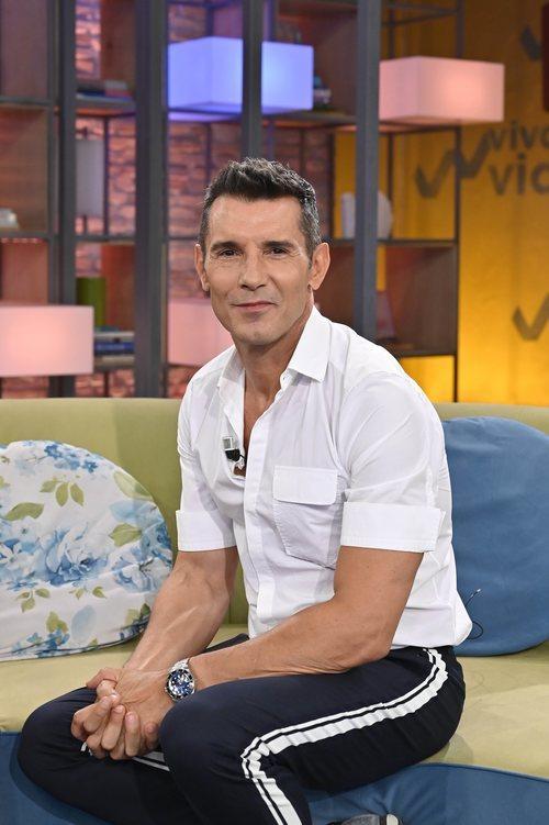 Jesús Vázquez, invitado en 'Viva la vida'