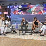 Sandra Barneda y los colaboradores de 'Viva la vida' en el plató