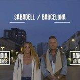 Lidia y Dani, concursantes de 'El contenedor' en Antena 3