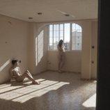 Sergio y Raquel al desnudo en 'El contenedor'