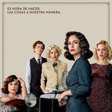 Póster oficial de la cuarta temporada de 'Las chicas del cable'