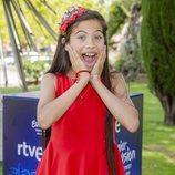 La cantante Melani es la representante de España en Eurovision Junior 2019