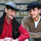 Eduardo Gómez junto a su hijo Héctor Gómez