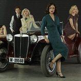 Posado de 'Las chicas del cable' en la cuarta temporada