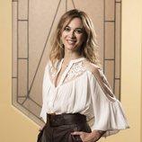 Marta Hazas posa en el rodaje de 'Velvet colección'