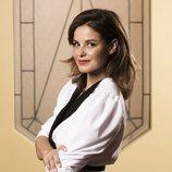 Marta Torné posa en el rodaje de 'Velvet colección'