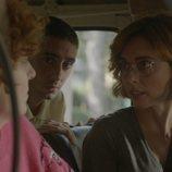 Leticia Dolera en un coche como María en 'Vida perfecta'