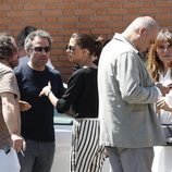 Daniel Guzmán, Macarena Gómez y Antonia San Juan se despiden de Eduardo Gómez