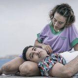 Miguel Ángel Silvestre y Marisé Álvarez en 'En el corredor de la muerte'