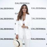 Sara Carbonero en el photocall de Calzedonia