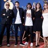 Risto Mejide, Dani Martínez, Santi Millán, Paz Padilla y Edurne, de 'Got Talent España 5'