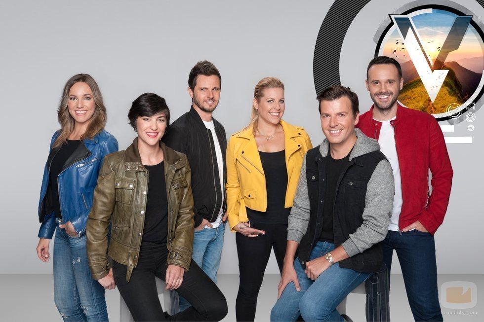 Equipo de reporteros de la segunda temporada de 'Viajeros Cuatro'