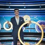 Jorge Fernández con los anillos en 'El juego de los anillos'