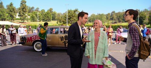 Ben Platt junto a Lucy Boynton en 'The Politician'