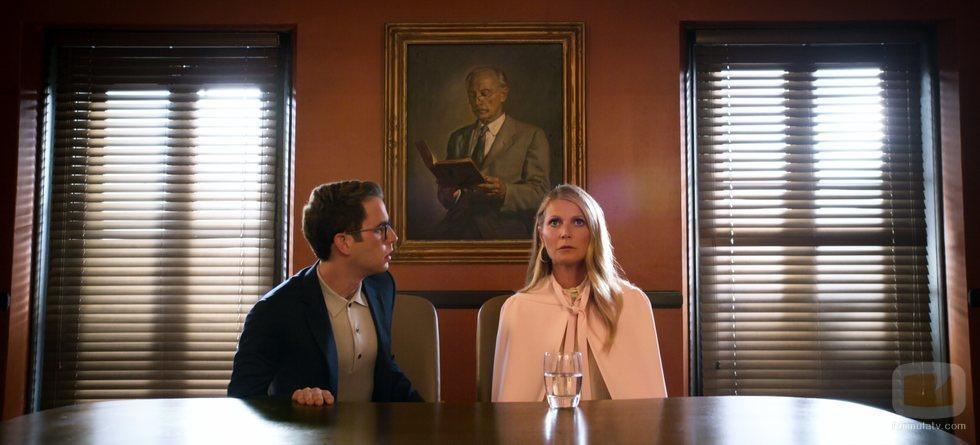 Ben Platt y Gwyneth Paltrow en 'The Politician', la comedia de Ryan Murphy