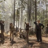 Daryl, Cyndie, Michonne, Carol y Diane dispuestos a atacar en la décima temporada de 'The Walking Dead'
