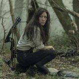 Yumiko en la décima temporada de 'The Walking Dead'
