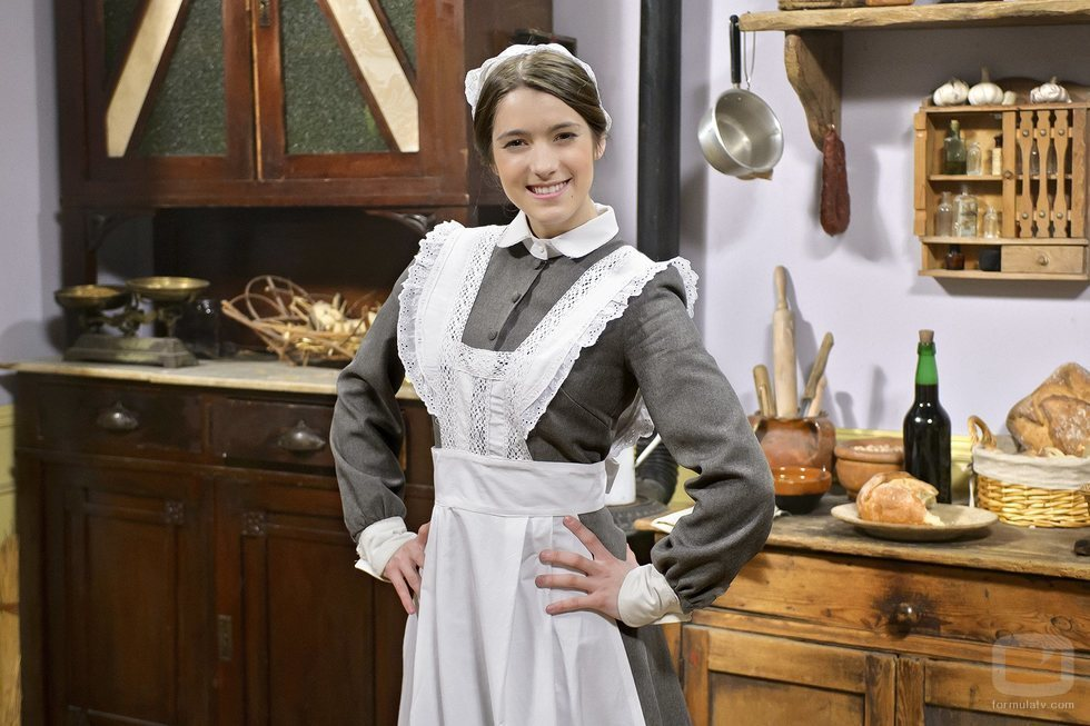Marita Zafra interpreta a Casilda en 'Acacias 38'