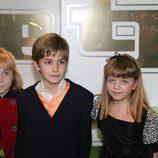 Denisse Peña, Javier Cidoncha y Carlota García en los TP (2008)