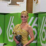 Patricia Conde, ganadora a Mejor Presentadora en los TP de Oro 2008