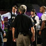 El equipo de 'Mentes criminales' investigando