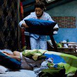 Chiqui Fernández intenta ahogar a Daniel Guzmán en 'La familia Mata'