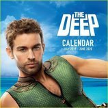 Chace Crawford protagoniza el calendario de The Deep