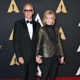 Peter y Jane Fonda en los premios Oscar