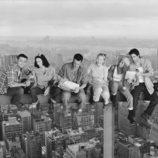 Los protagonistas de 'Friends' en lo alto de los rascacielos de Nueva York