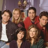 Los protagonistas de 'Friends' en el piso de Monica