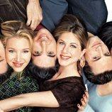 Los protagonistas de 'Friends' en primer plano