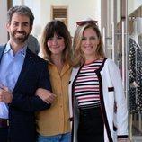 Daniel Muriel, Cristina Abad y María Molins en 'Servir y proteger'