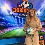 Andrea Borreguero, reportera de 'El Chiringuito de Jugones'