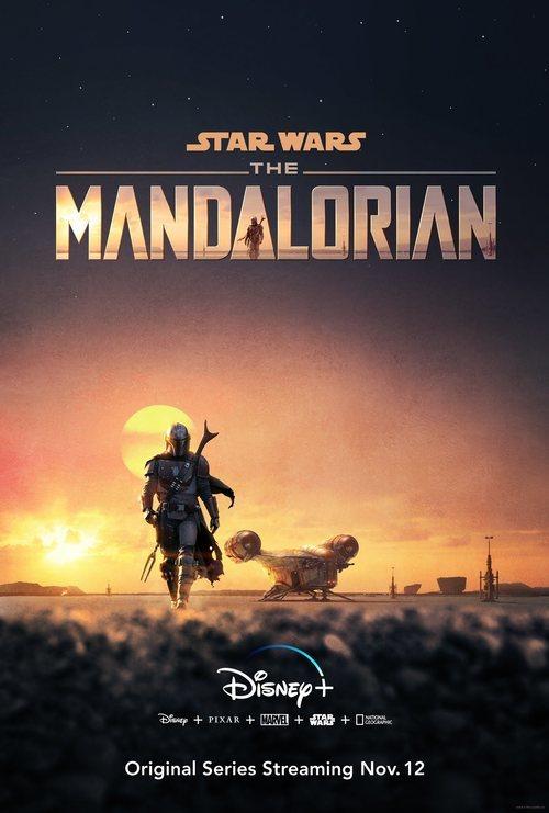 Póster de 'The Mandalorian'