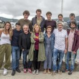 'Néboa', el elenco de la serie