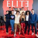 Elenco de la segunda temporada de 'Élite'