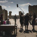 Pablo Rivero (Toni) en el rodaje de la temporada 20 de 'Cuéntame cómo pasó', que recrea la guerra del Golfo