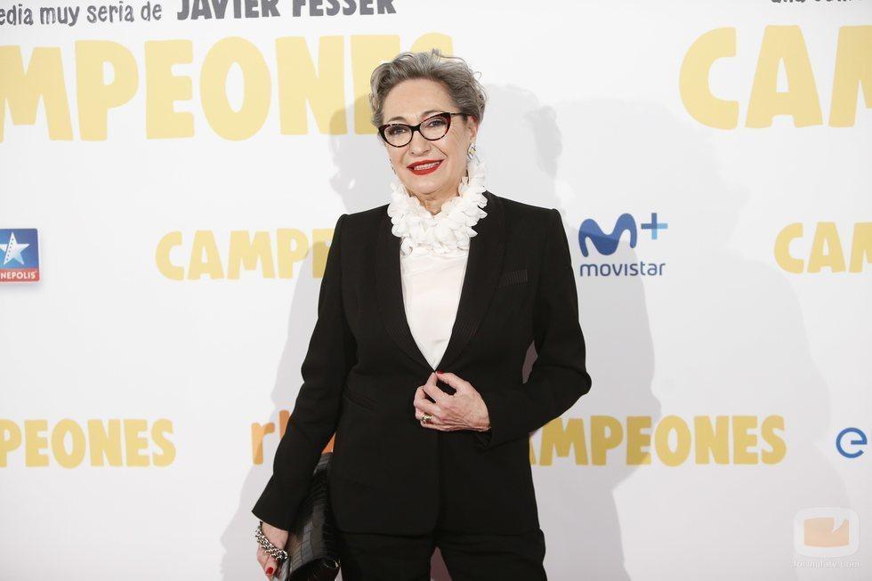"""Luisa Gavasa posa en el photocall de """"Campeones"""""""