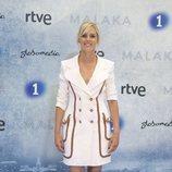 Maggie Civantos en la presentación de 'Malaka'