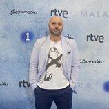 Vicente Romero en la presentación de 'Malaka'